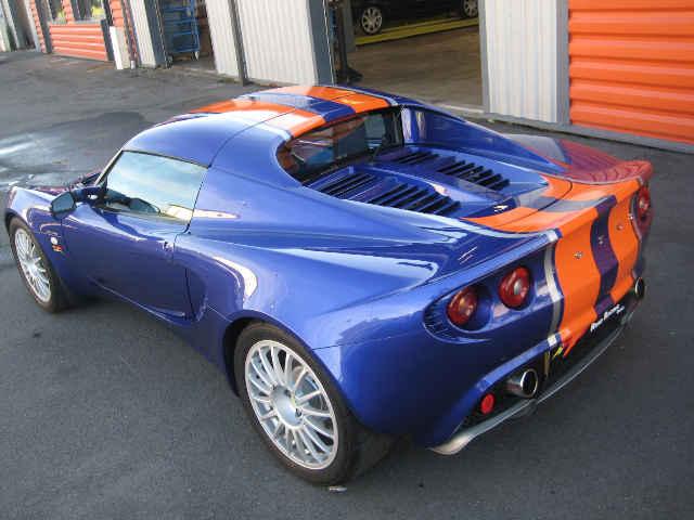 Ktm X Bow >> LOTUS Elise S2 135R Blue Mica