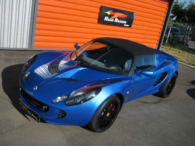 lotus elise s2 lazer blue. Black Bedroom Furniture Sets. Home Design Ideas